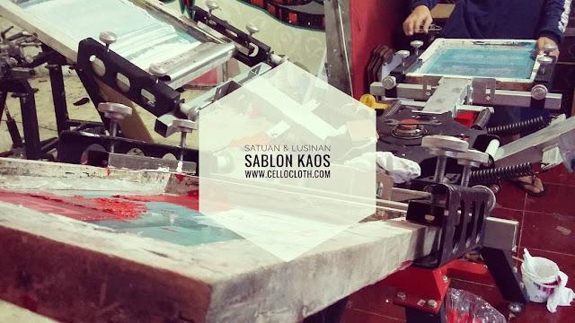 Sablon Kaos Yogyakarta Online Terpercaya