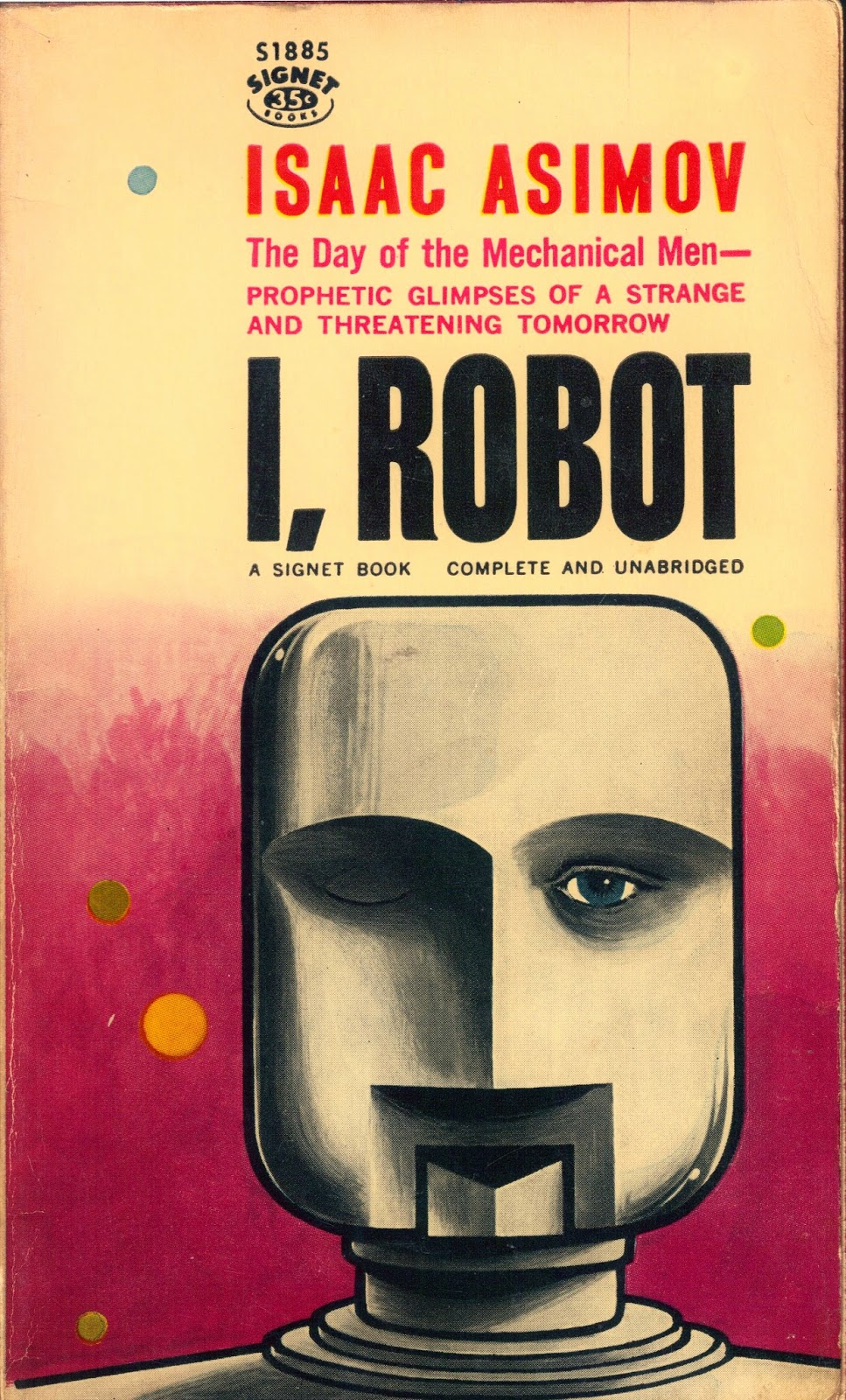 Brickbat Books: Featured: Three Great Covers, Three Great ... I Robot Book Cover