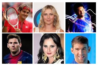 Famous Sports Personalities in the World