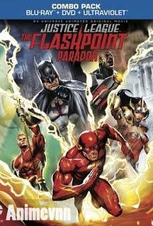 Liên Minh Công Lý- Nghịch Lý Tia Chớp - Justice League The Flashpoint Paradox 2013 2013 Poster