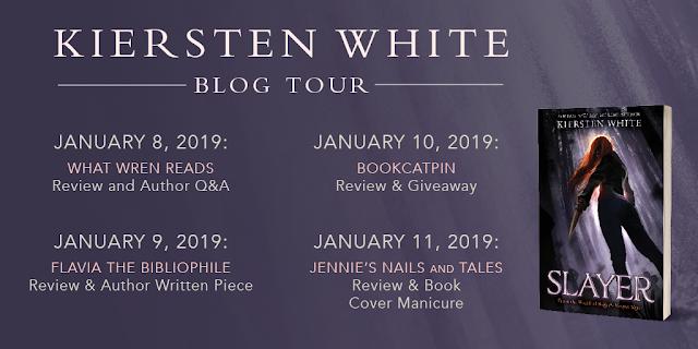 Slayer Blog Tour schedule banner
