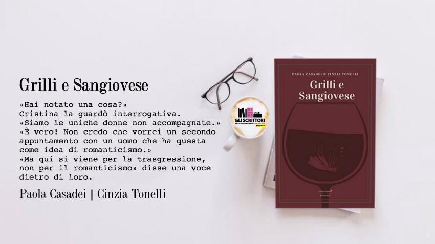 Grilli e Sangiovese, un giallo di Paola Casadei e Cinzia Tonelli