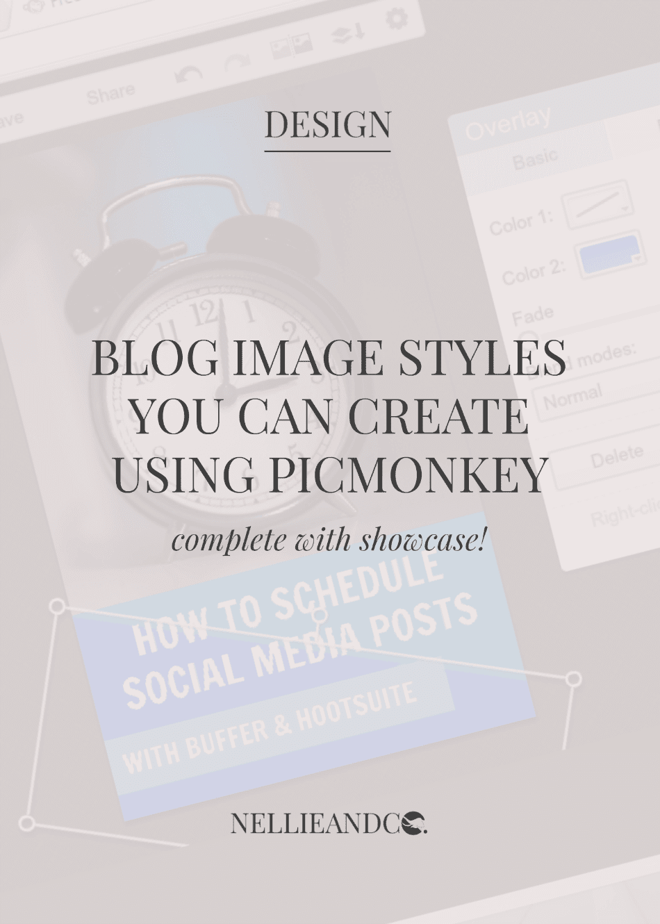 You don't have to splash out cash on Photoshop, make these 5 attractive blog images with Picmonkey and never spend a penny again!