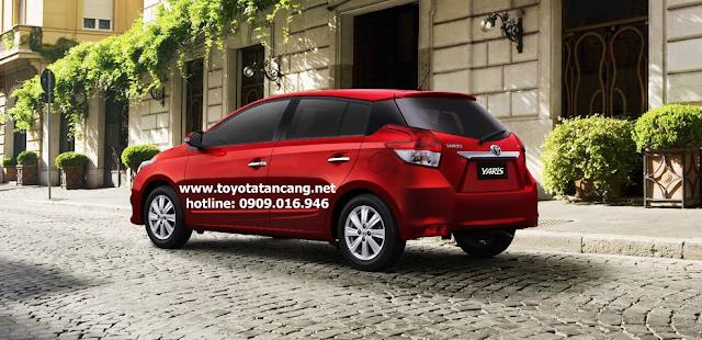 toyota yaris 2015 e g toyota tan cang 4 -  - Mua xe hơi lần đầu chọn Toyota Vios hay Yaris 2015 ?