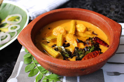 prawns drumstick raw mango curry prawns curry kerala kudampuli chemmeen curry
