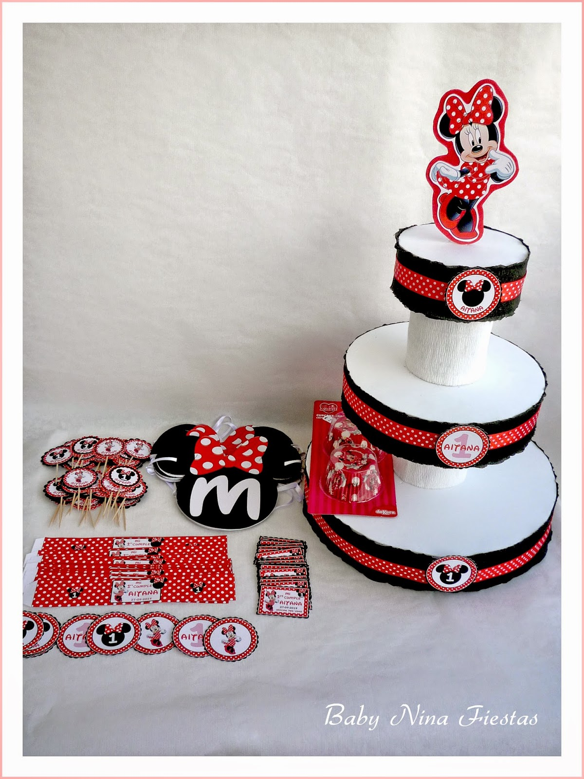 Kit fiesta Minnie Mouse