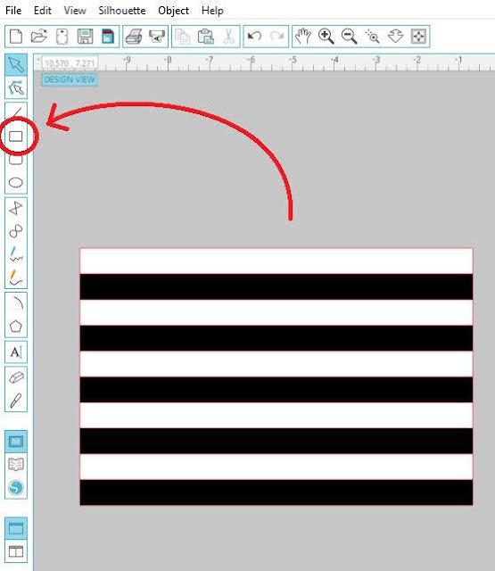 striped state design, Striped State Design Tutorial, silhouette cameo, dingbat font, vinyl decals