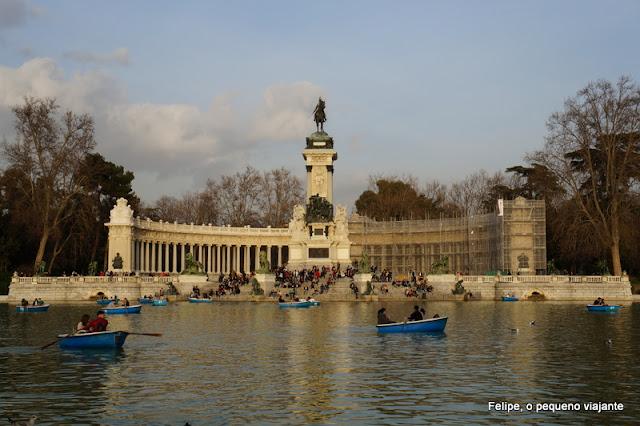 parque de El Retiro, em Madrid