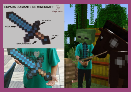 Forja Ideas Espada Minecraft