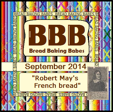 Bread Baking Babes September 2014 - Robert May's French Bread (a 354-year old recipe)