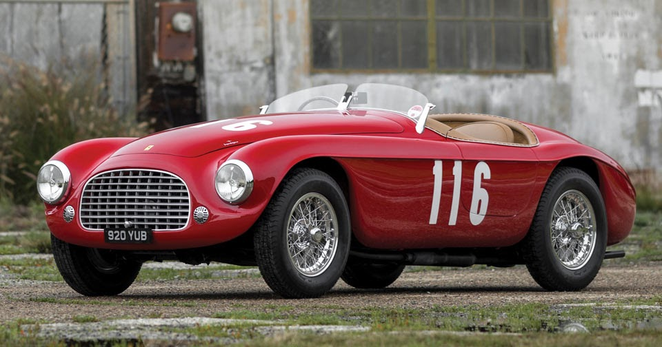 One of the earliest ferraris is coming up for auction for Cross country motor club phone number