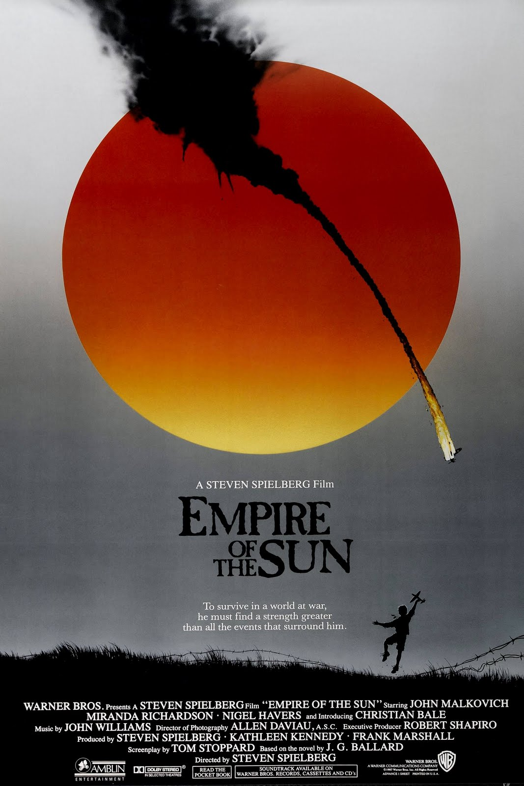 The Pilgrim S Podcast Empire Of The Sun Movie Review
