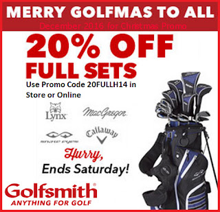 Golfsmith coupons for december 2016
