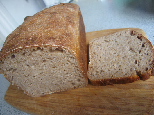 Sourdough Rye Brick Bread (Kirpichik)