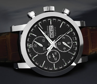 Chronoswiss Pacific Chronograph, Reference CH 7583