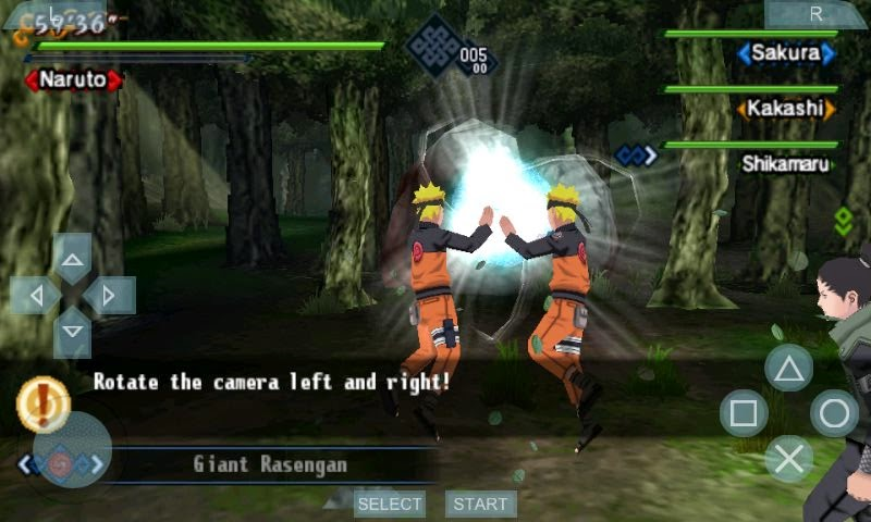 Naruto PSP