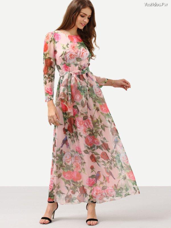 b459122a1da26 Más de 65 Bellos Vestidos Estampados ¡Modelos Originales!