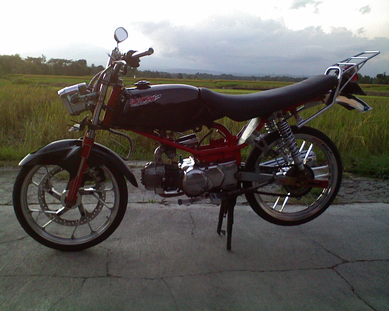 Honda Win Modifikasi Motor