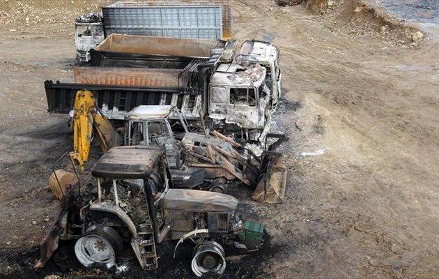Aθώοι οι κατηγορούμενοι για την εμπρηστική επίθεση στις Σκουριές Χαλκιδικής