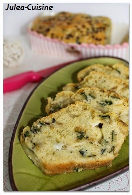 Cake Chevre Olive Pour Apero