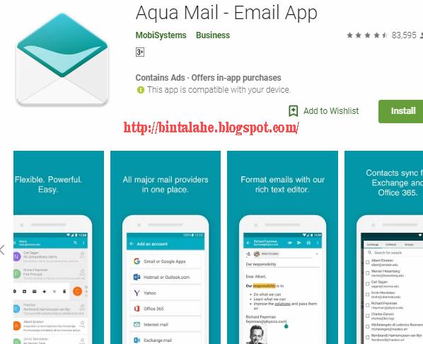 10 Aplikasi Email Terbaik Android Untuk Anda - Ninna Wiends