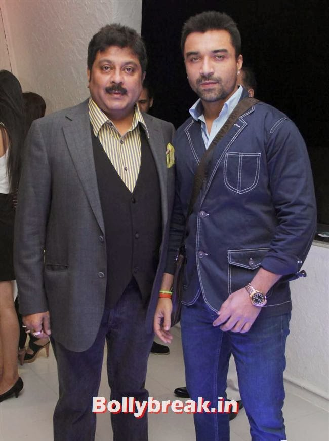Kapil Mehra  with Ajaz Khan, Page 3 Babes at Kapil Mehra Birthday Party