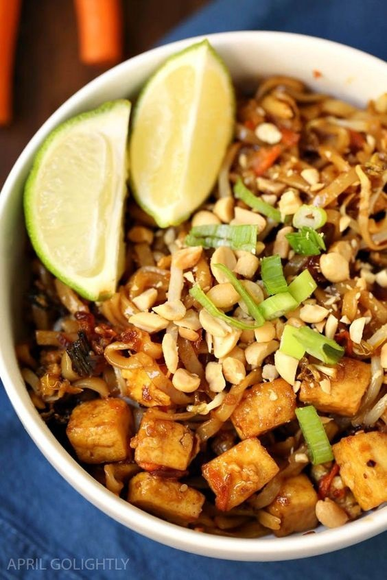 One Pot Pad Thai Recipe