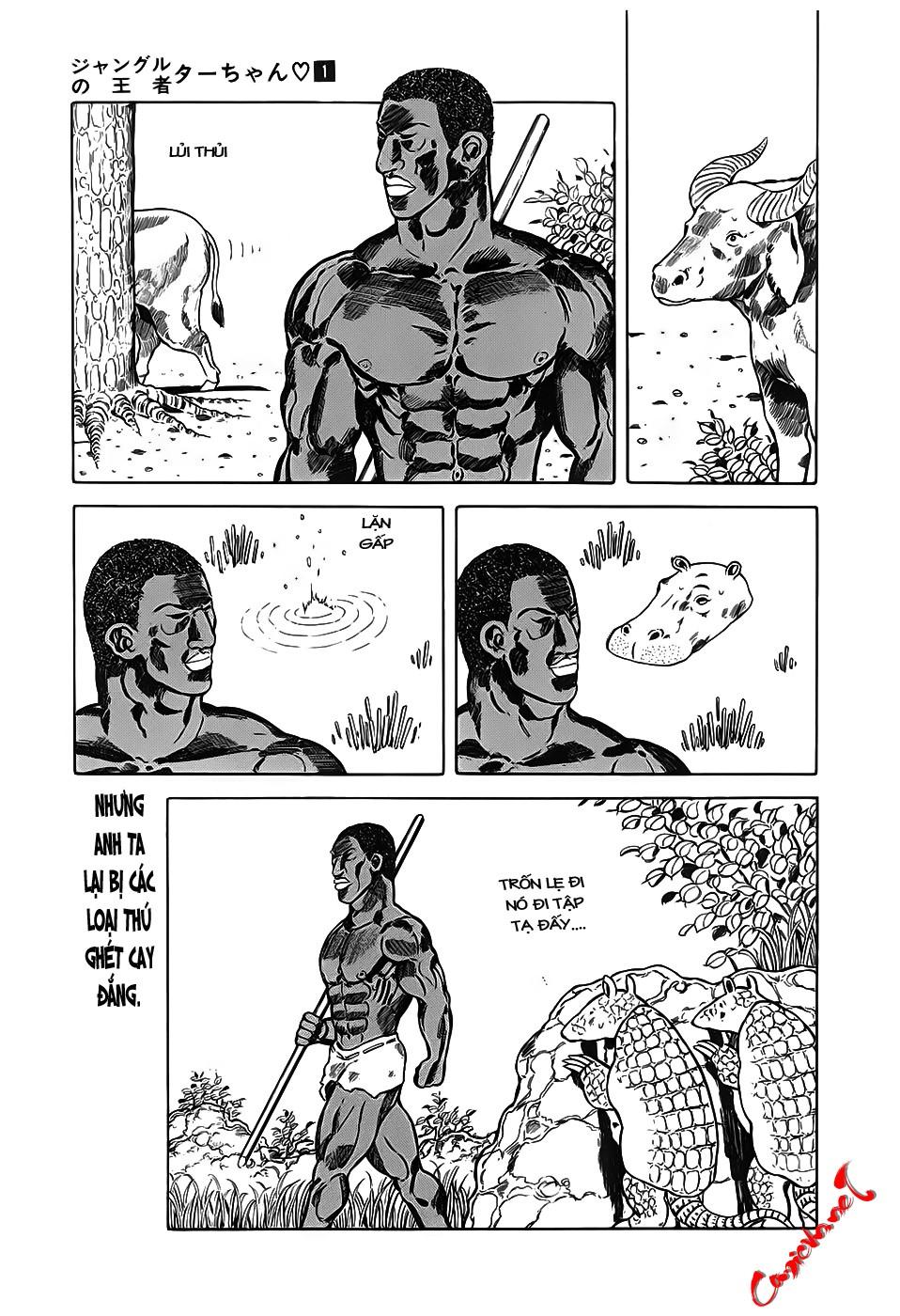 Chúa rừng Ta-chan chapter 10 trang 7