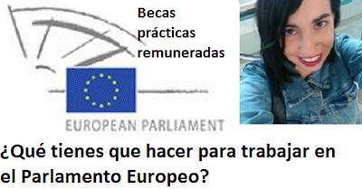 ¿Qué tienes que hacer para trabajar en el Parlamento Europeo? Becas prácticas remuneradas