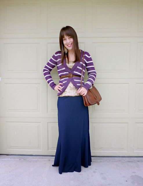 six ways to wear a maxi skirt for fall and winter