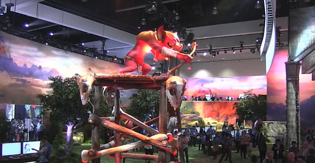 The Legend of Zelda: Breath of the Wild Nintendo E3 booth Bokoblin Archer Tower