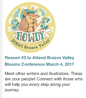SCBWI Brazos Valley 2017 Conference, Reasons to attend a writer's conference