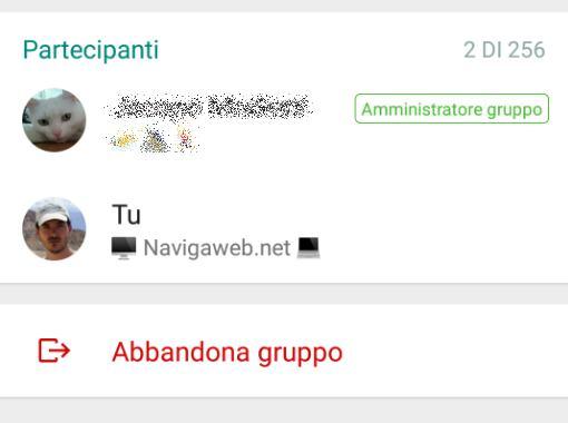 Campagnano r p lasciare un gruppo whatsapp e for Per gruppo ilva punto com