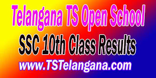 Telangana TS TOSS 10th Class SSC Results 2016 - Telangana TS Open School SSC 10th Class Results
