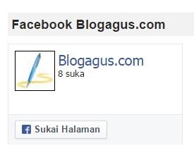 Pentingnya Memasang Widget Halaman Facebook di Blog