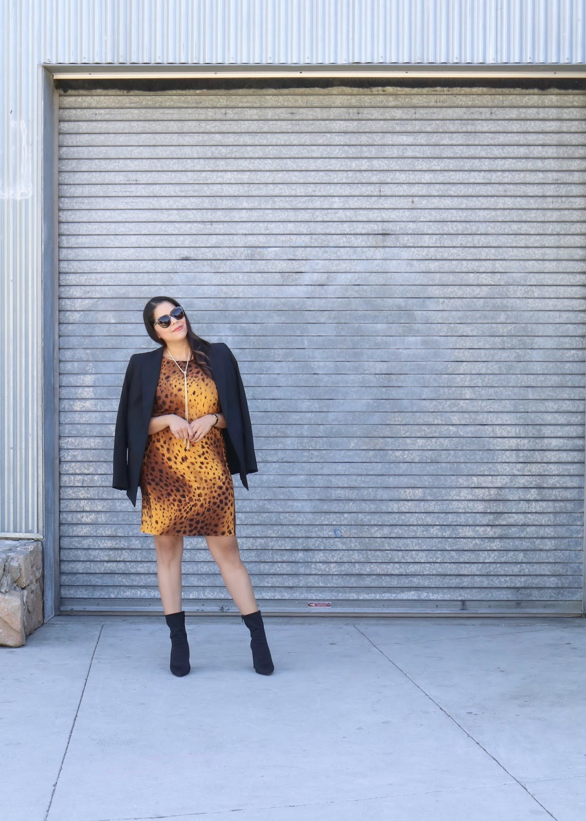 how to wear leopard to the office