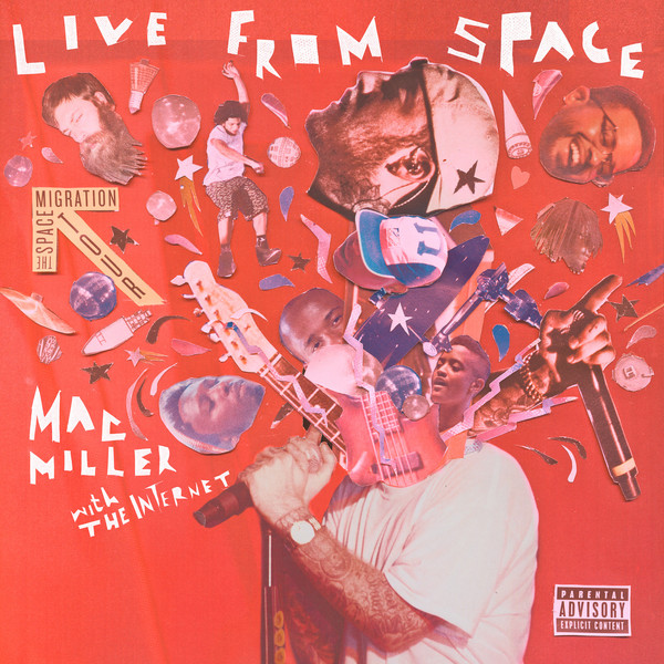 Mac Miller - Live From Space Cover