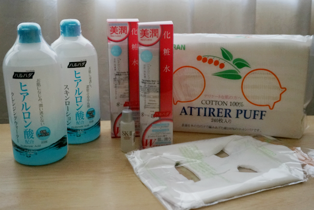 Skin Care Haul: Suzuran, Arezia  SK-II, and Haruhada from Sasa.com