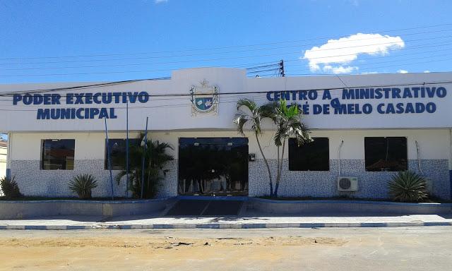 Prefeitura de Olho D'Água do Casado decreta calamidade administrativa por 90 dias
