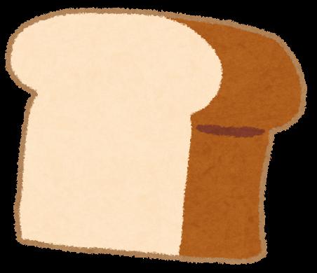 食パンのイラスト「一斤」 | かわいいフリー素材集 いらすとや