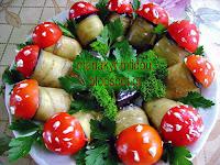 Μελιτζάνες ρολάκια για μεζέ - by https://syntages-faghtwn.blogspot.gr
