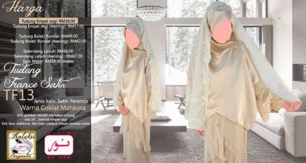Tudung Labuh Online Abaya Custom Made
