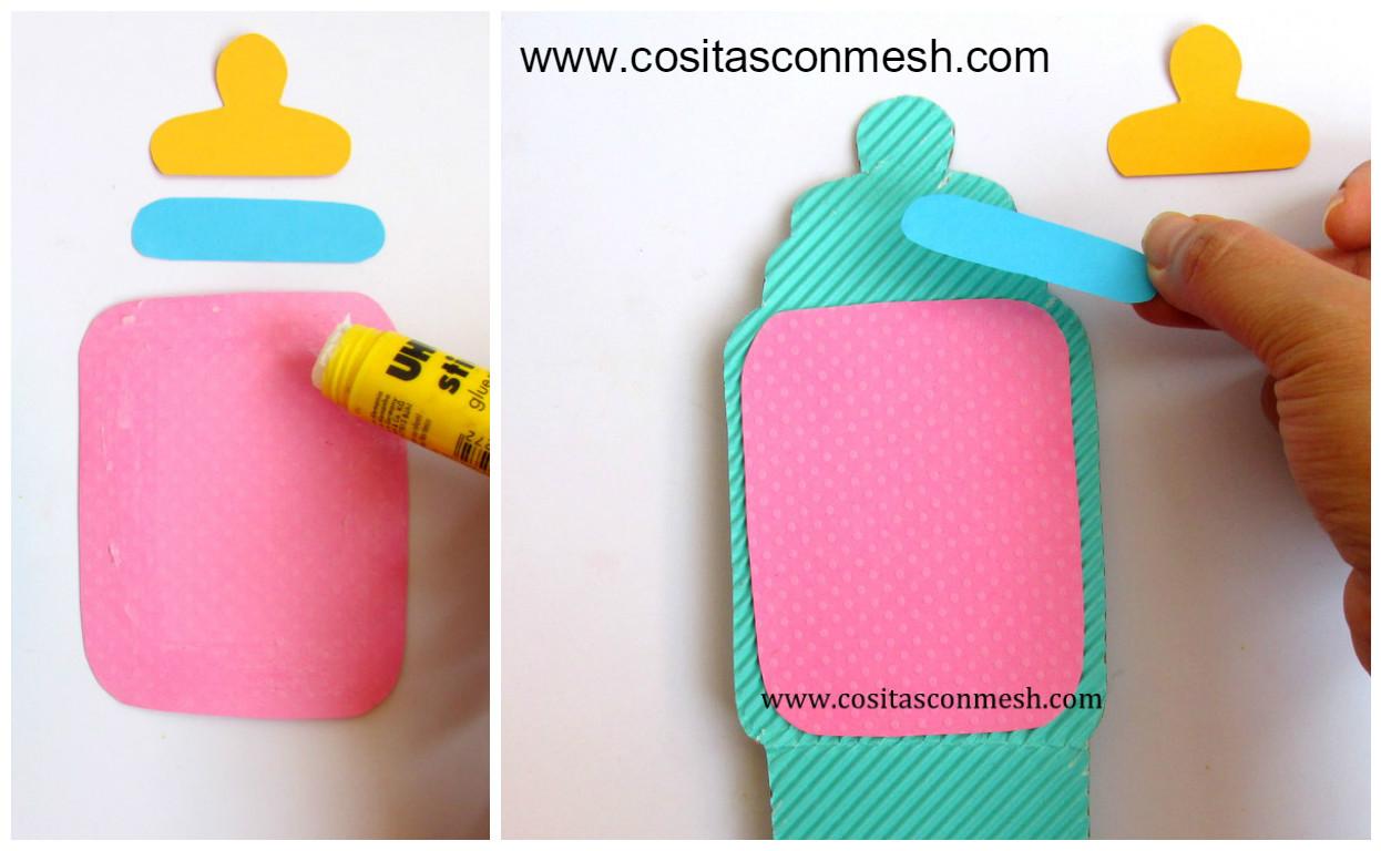 Aprende Cómo Hacer Cajitas De Cartón Corrugado Para Baby Shower Cositasconmesh
