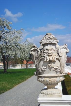 autriche basse-autriche schloss château hof jardins baroque