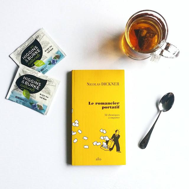 Le romancier portatif de Nicolas Dickner