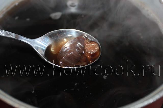рецепт супа с лесными грибами с пошаговыми фото