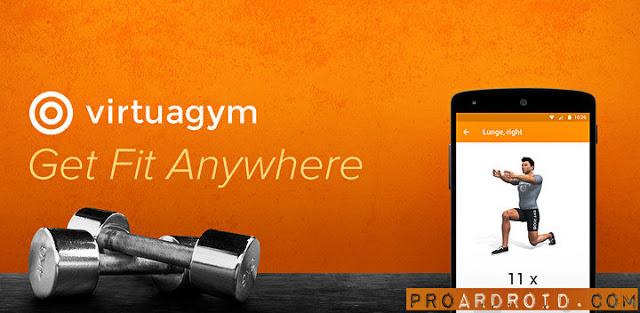 تطبيق اللياقة البدنية Virtuagym Fitness Pro v7.1.3 للأندرويد مجاناً logo
