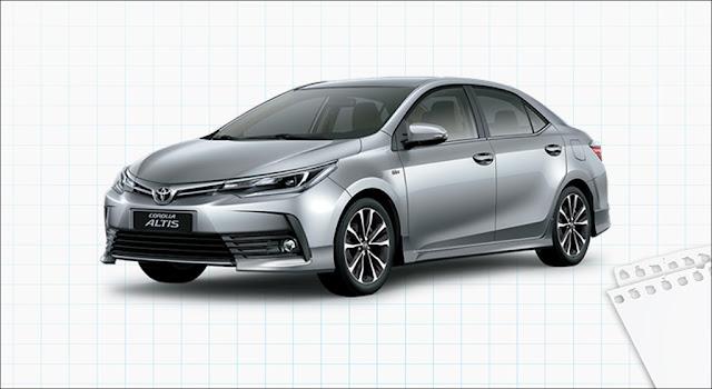 Toyota Corolla Altis 2.0V Sport CVT 2019
