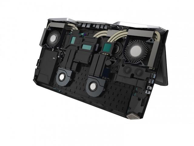 Acer Predator 21 X, laptop gaming Kaby Lake, Acer gaming