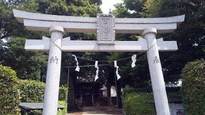 町田市の淡島神社